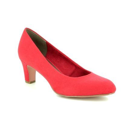 Tamaris Court Shoes - Red - 22418/22/515 CAXIAS 91