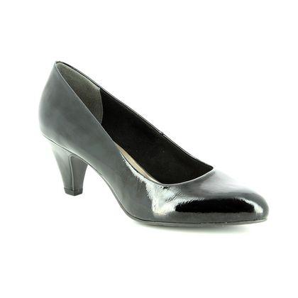 Tamaris Court Shoes - Black patent - 22416/21/018 CRESSCO 85