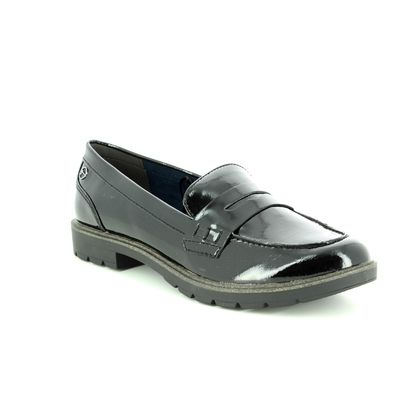 Tamaris Loafers and Moccasins - Black patent - 24600/21/018 CRISSY 85