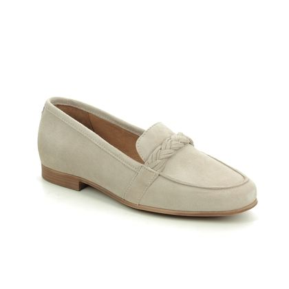 Tamaris Loafers and Moccasins - Taupe suede - 24228/24/341 EDANY