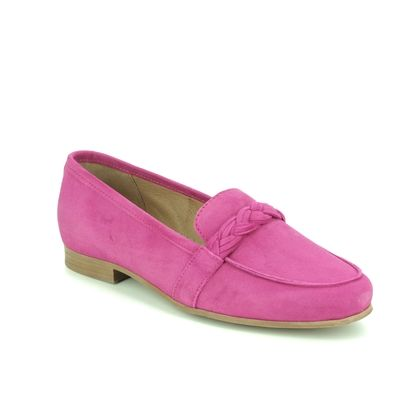 Tamaris Loafers and Moccasins - Fuchsia Suede - 24228/24/631 EDANY