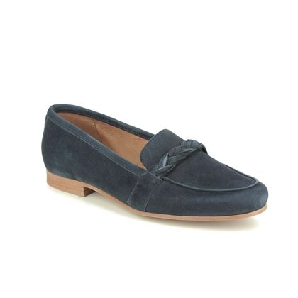 Tamaris Loafers and Moccasins - Navy Suede - 24228/24/805 EDANY