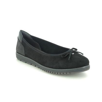 Tamaris Pumps - Black leather - 22121/25/001 EULALIA