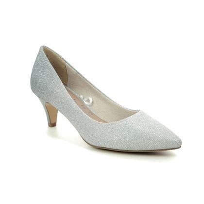 Tamaris Court Shoes - Silver Glitz - 22415/24/920 FATSA 01
