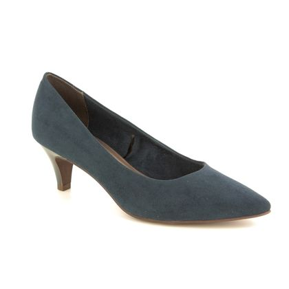 Tamaris Court Shoes - Navy - 22415/22/805 FATSA