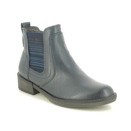 Tamaris Chelsea Boots - Navy - 25012/25/805 HAYDEN 05