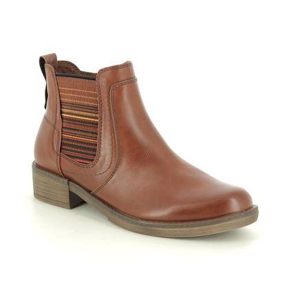 Tamaris Chelsea Boots - Tan - 25012/23/305 HAYDEN