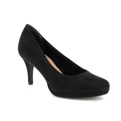 Tamaris Heeled Shoes - Black - 22464/32/001 JESSA