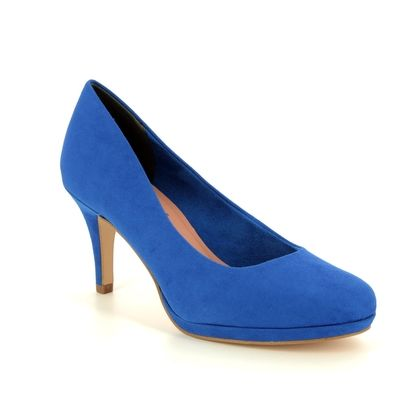 Tamaris Heeled Shoes - Blue - 22464/32/838 JESSA