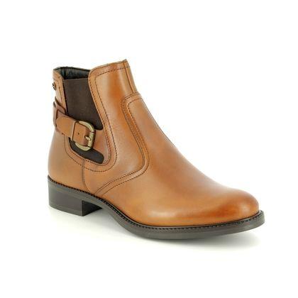 Tamaris Chelsea Boots - Tan Leather - 25002/21/440 JESSY  85
