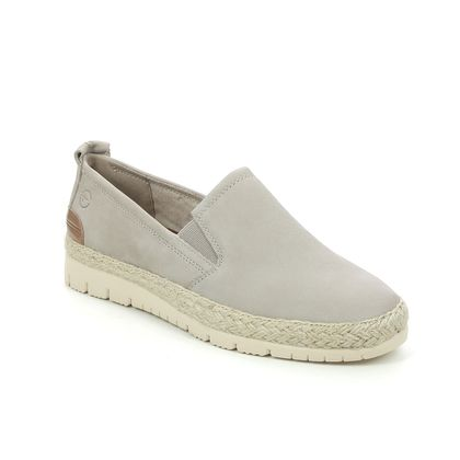 Tamaris Comfort Slip On Shoes - Taupe nubuck - 24601/26/375 KAIJA