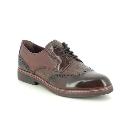 Tamaris Brogues - Brown leather - 23711/25/342 KELA