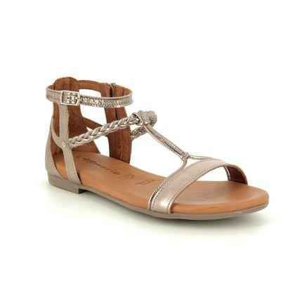 Tamaris Gladiator Sandals - Bronze leather - 28043/22/192 KIM