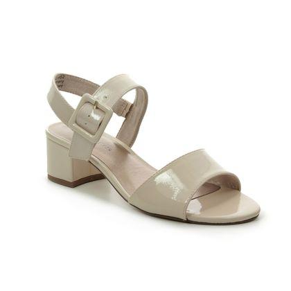 Tamaris Heeled Sandals - Nude Patent - 28211/22/452 KOLIBAR