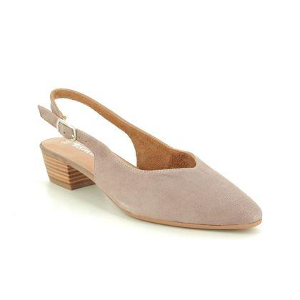 Tamaris Slingback Shoes - Taupe suede - 29405/24/341 KOSY