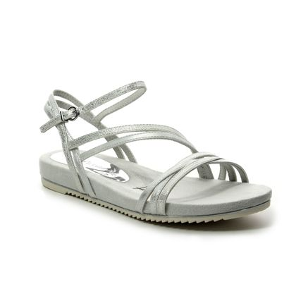 Tamaris Flat Sandals - Silver - 28112/22/106 LOCUSTS