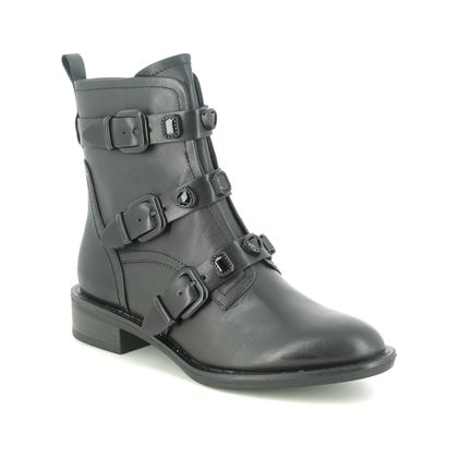 Tamaris Boots - Ankle - Black leather - 25415/25/007 MANISA