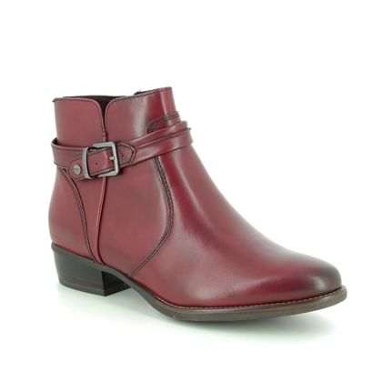 Tamaris Boots - Ankle - Wine leather - 25364/23/536 MARLBUCK