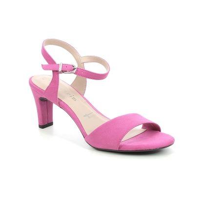 Tamaris Heeled Sandals - Fuchsia - 28028/26/513 MELIAH