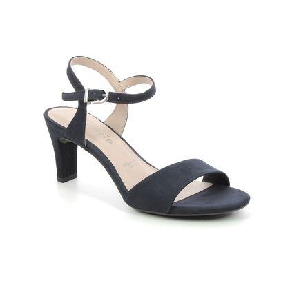 Tamaris Heeled Sandals - Navy - 28028/26/805 MELIAH