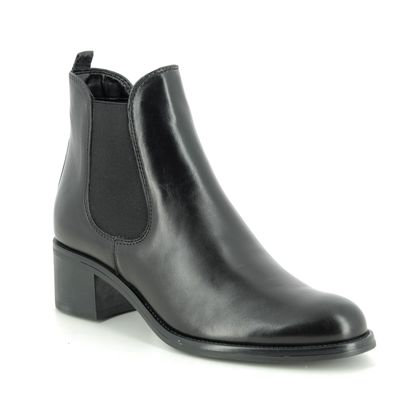 Tamaris Chelsea Boots - Black leather - 25040/23/001 MOLI