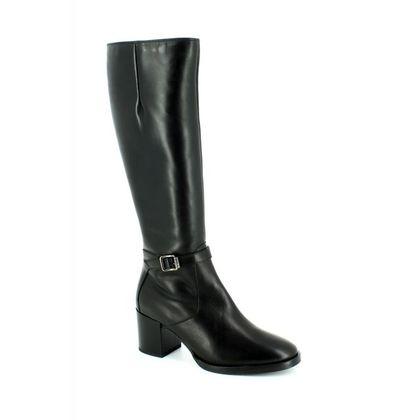 Tamaris Knee High Boots - Black - 25539/001 NAOS