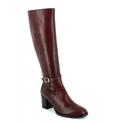 Tamaris Knee High Boots - Wine - 25539/549 NAOS