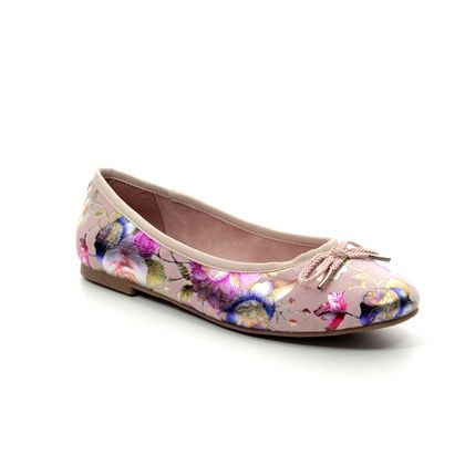 Tamaris Pumps - Rose floral - 22142/22/584 SAKURA 91