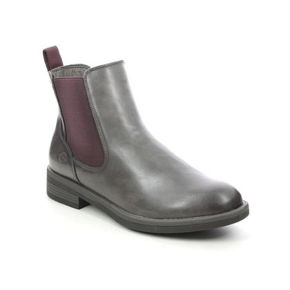 Tamaris Chelsea Boots - Grey - 25312/27/217 SHAECHEL