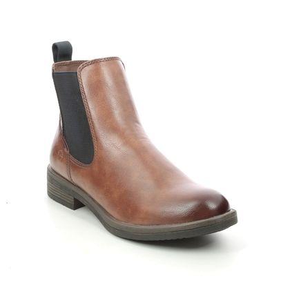Tamaris Chelsea Boots - Tan - 25312/27/388 SHAECHEL
