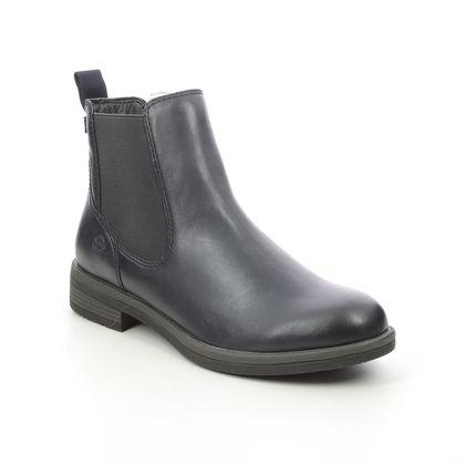 Tamaris Chelsea Boots - Navy - 25312/27/820 SHAECHEL