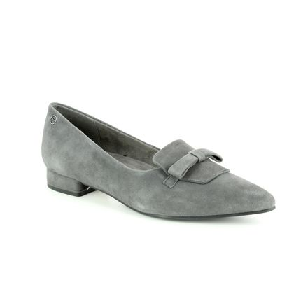 Tamaris Court Shoes - Grey Suede - 24200/21/206 SOLACE