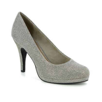 Tamaris Heeled Shoes - Silver Glitz - 22407/21/970 TAGGIA 85