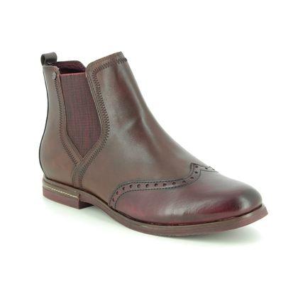 Tamaris Chelsea Boots - Tan Leather  - 25027/23/448 VANNI