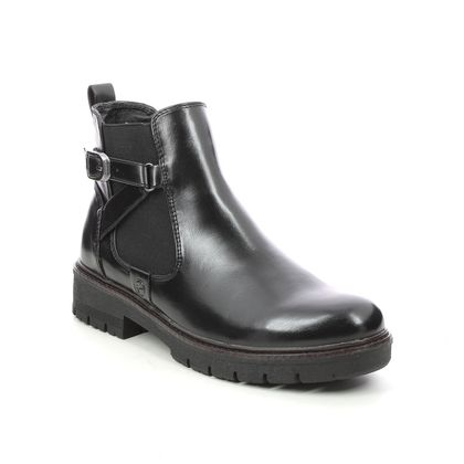 Tamaris Chelsea Boots - Black - 25416/27/001 VINAB