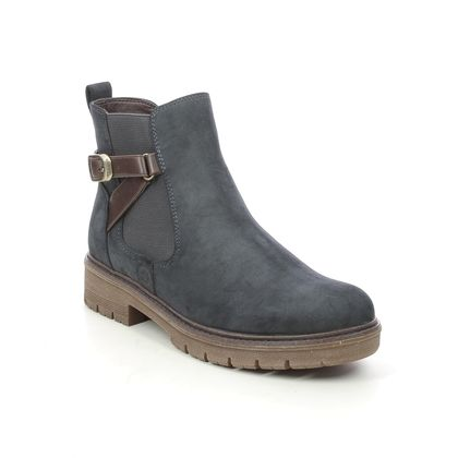 Tamaris Chelsea Boots - Navy - 25416/27/890 VINAB