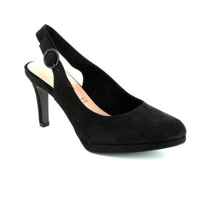 Tamaris Heeled Shoes - Black - 29605/001 YAM
