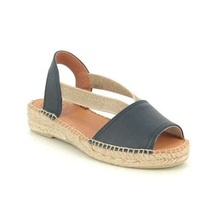 Toni Pons Espadrilles - Navy Leather - 0108/70 ETNA