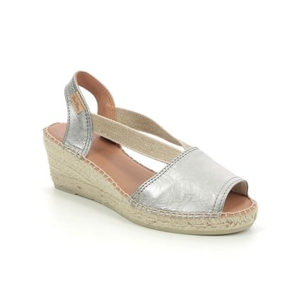 Toni Pons Espadrilles - Silver Leather - 2023/10 TEIDE P