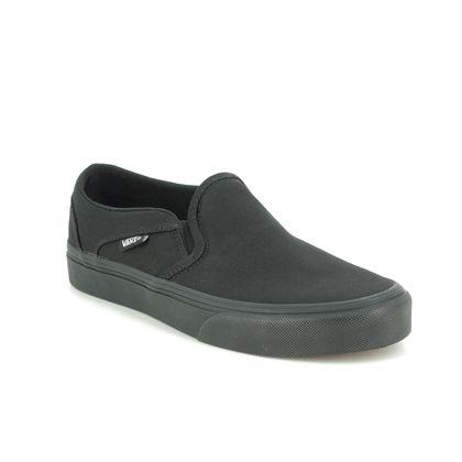 Vans Trainers - Black - VN0A45JM1/861 ASHER