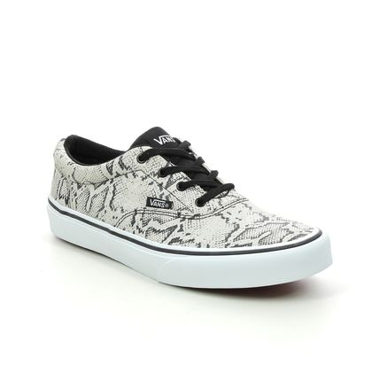 Vans Girls Trainers - Taupe multi - VN0A45JW3/QU1 DOHENY G