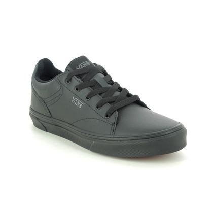 Vans Boys Trainers - Black - VN0A4U251/1I1 SELDAN YOUTH