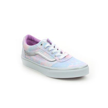 Vans Girls Trainers - Pink Glitz - VN0A3TFW3/QT1 WARD G