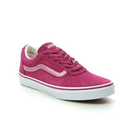 Vans Girls Trainers - Dark pink - VN0A3TFWV/2L1 WARD G