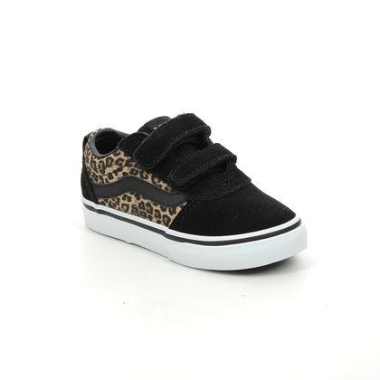 Vans Girls Trainers - Leopard print - VN0A4BTF3/6I WARD INF
