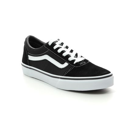 Vans Boys Trainers - Black - VN0A38J9IJU1 WARD YTH