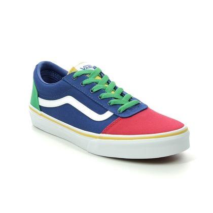 Vans Boys Trainers - Multi Coloured - VN0A38J9W/J01 WARD YTH