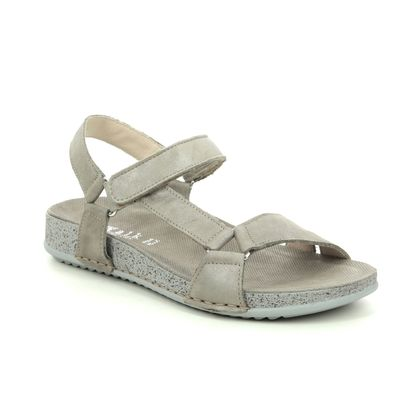 Walk in the City Comfortable Sandals - Bronze leather - 7939/42270 BRILLIANT WIDE