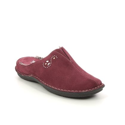 Walk in the City Slippers & Mules - Wine - 4988P/31925 LAGODOTS 15
