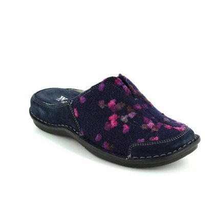 Walk in the City Slippers & Mules - Navy - 4988/32010 LAGOTO